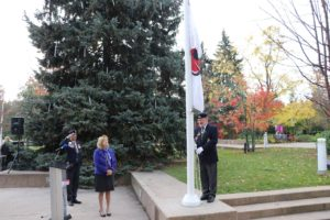 Poppy Campaign Flag-Raising